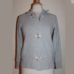OLD NAVY Gray Soft Toggle Front Jacket S Small